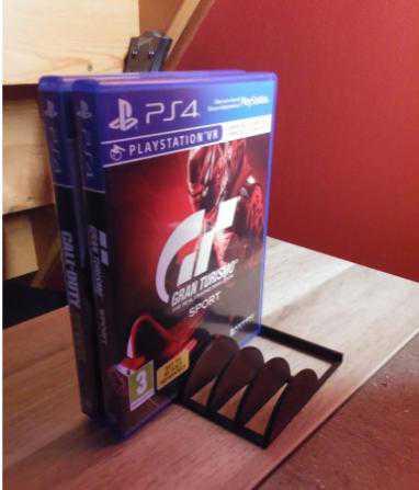 PlayStation Oyun CD Tutucusu PS4 PS3 Organizer Düzenleyici