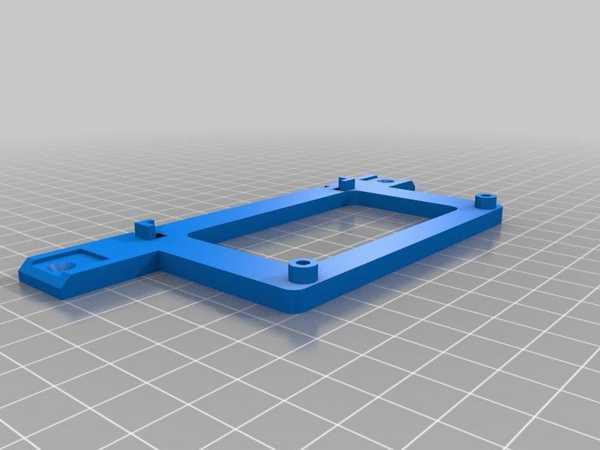 Arduino Mega 2560 R3 Ekstrüzyonlar İçin Braketi I-Tip 5 Yuvası - Dikey Sürüm Plastik Aparat