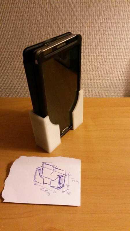 Galaxy Note 3 Duvar Montajı Plastik Aparat