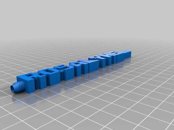 Özelleştirilmiş Retro Yazı Tipi Kelime Kalemim Plastik Aparat