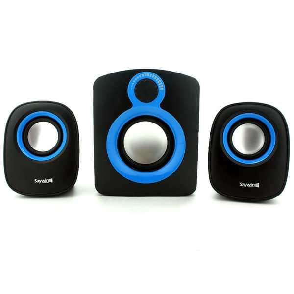 Hoparlör Seti Kablolu Taşınabilir Multimedia Aux 3.5mm jack Bass