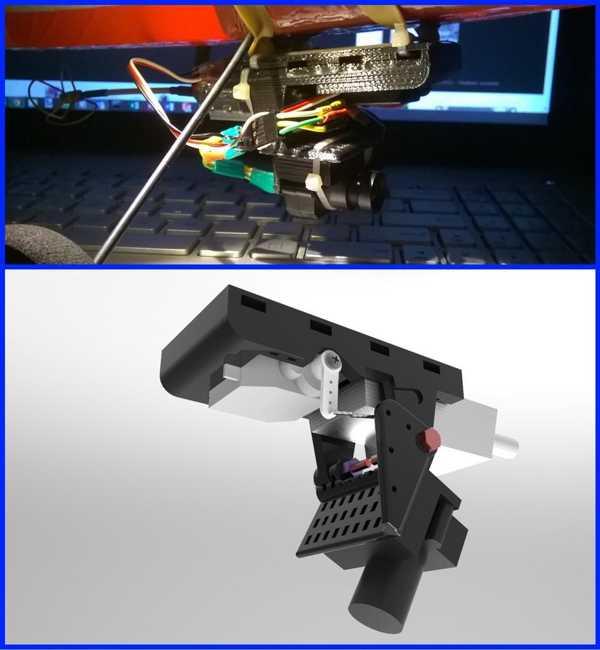 Fpv Kamera Tilt Kontrolü Plastik Aparat