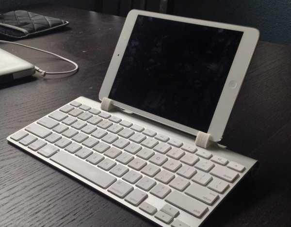 Ipad Mini Apple Kablosuz Klavye Bağlantı Aparatı Masaüstü Tutucu