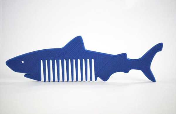 Köpekbalığı Tarak  Süs Eşyası Hediyelik Saç Tarama Dekoratif