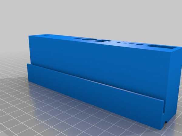 Replicator 2 İçin Akrilik Paneller İçin Takım Tutucu Plastik Aparat