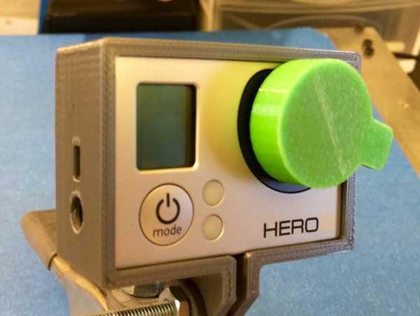 Go Pro Hero 3 Lens Kapak Koruyucu Aksesuar Kapağı