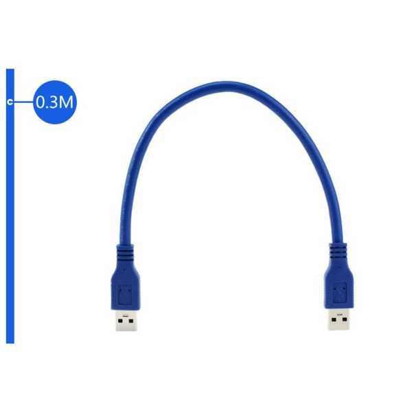 USB 3.0  50 CM  Erkek Kablo Harici Harddisk Veri Data Aktarım