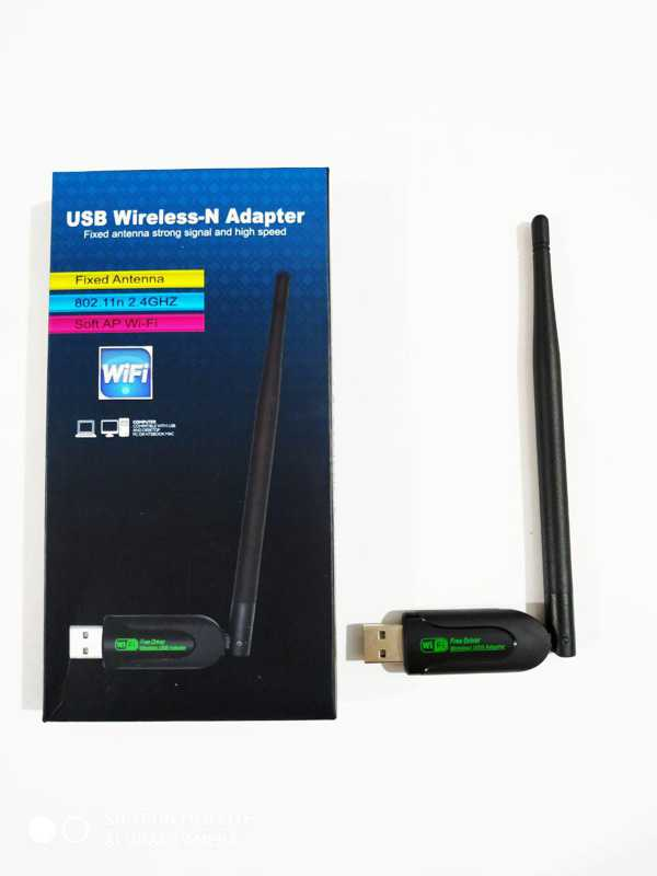 USB Wireless-N Wifi Adapter Fixed Antenna 802.11N 2.4GHZ Soft Ap