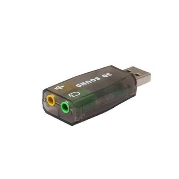 Usb Ses Kartı 5.1 3D Sound USB Harici Ses Kartı  Audio Çevirici