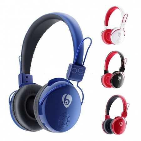 Bluetooth Mikrofonlu Kulaklık Hafıza Kart V8 OVLENG Youtuber