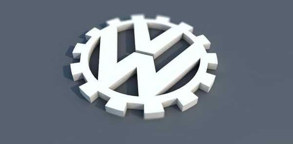 2. Basım VW Logosu Biblo Dekoratif Hediyelik Süs Eşyası Maket