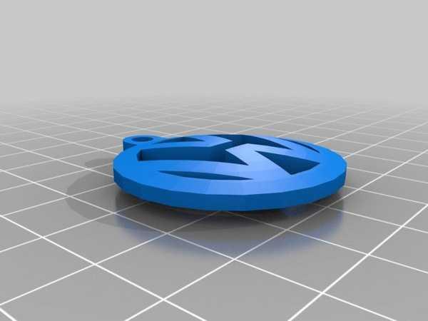 Vw Volkswagen Logo Şeklinde Anahtarlık Anahtar Tutucu Aparat