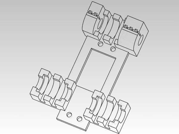 Orca Serisi Lineer Rulman Lm8Uu X-Carriage - Daha İyi / En Yeni Sürüm Plastik Aparat