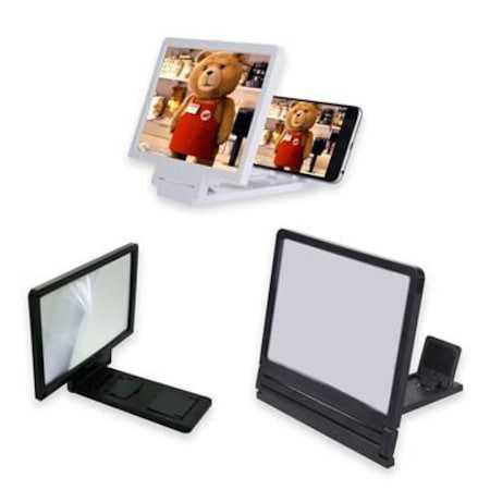 Cep Telefonu Büyüteç Telefon Ekran  Film Video 3D Mercek